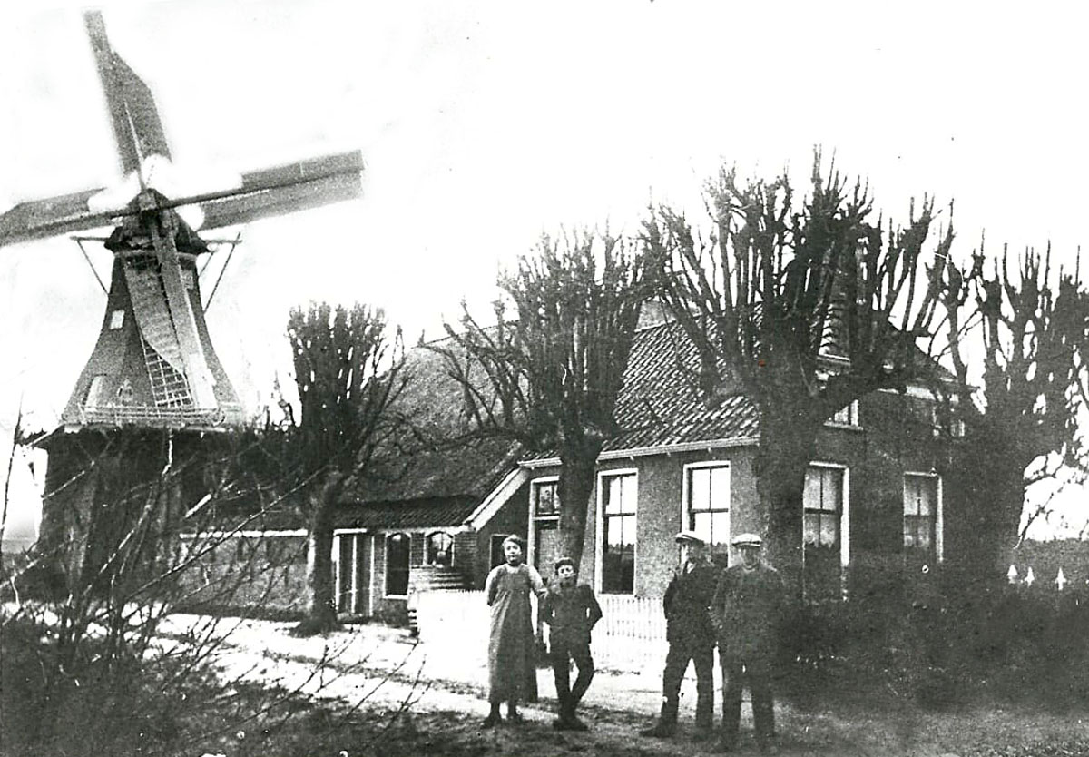 Molen Windlust De Holm 2 Tolbert collage